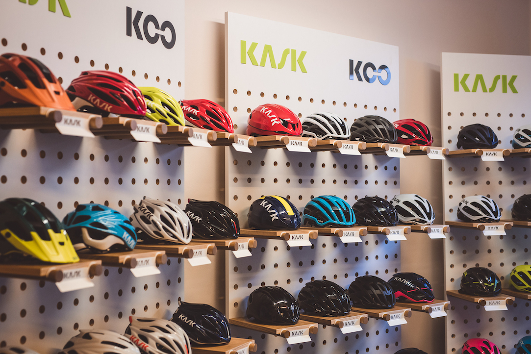 Team Ineos helmet of choice from KASK